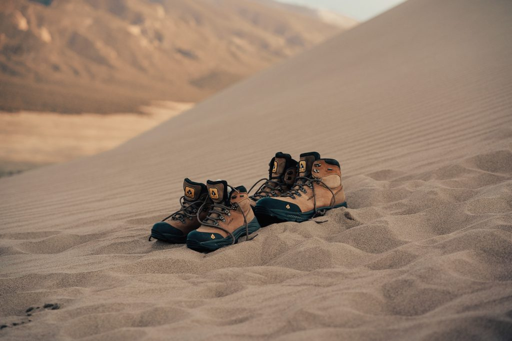Hiking Boots in Great Sand Dunes National Park