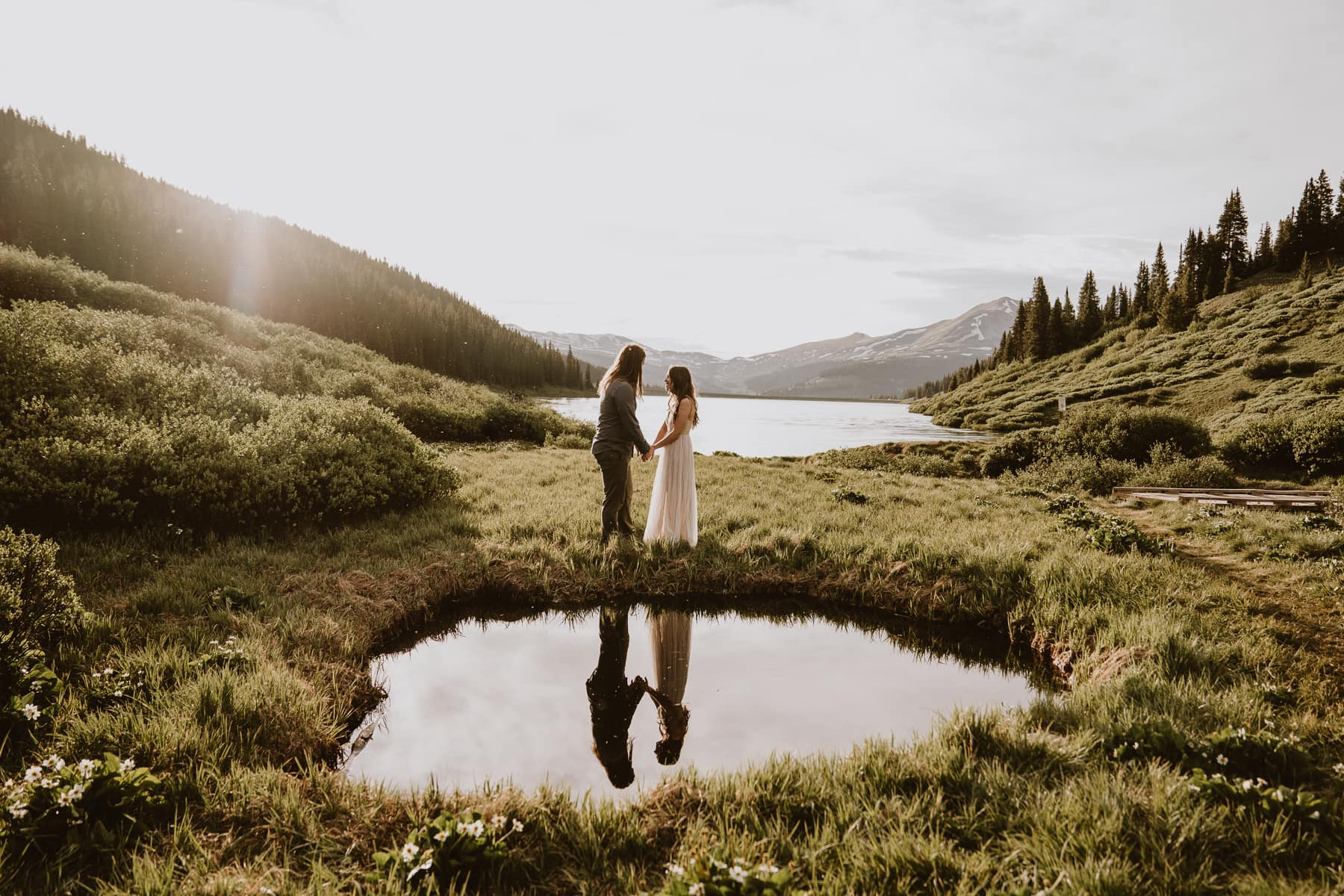Magical places like this exist. This is why I make it my mission to find the best places for couples to elope in Colorado!