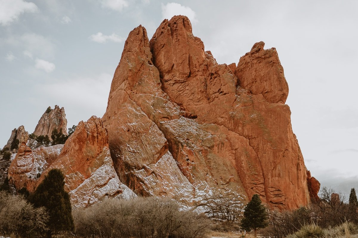 Central trail is a good pick if you're looking for Garden of the Gods photo spots