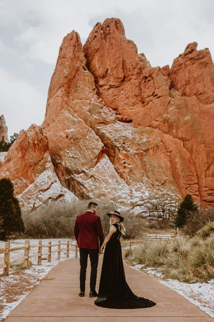 A Garden of the Gods Elopement is one of the best options if you're looking for the best free place to elope in Colorado